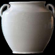 19th Century French White-Glazed Earthenware CONFIT Pot #2
