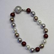 Multi-Color Swarovski Pearl Bracelet