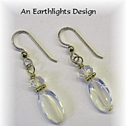 Lovely Opalite Dangle Earrings