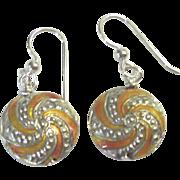 Beautiful Cloisonne Earrings