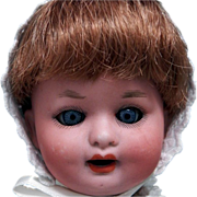 Bisque Doll Heubach German Character Baby Antique