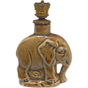 Elephant Perfume Bottle Crown Top Schafer & Vater