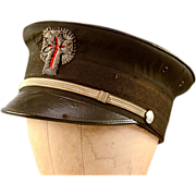 Vintage Knights of Templar Fatigue Hat Hard to Find