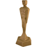 And the Oscar Goes To: Very Unusual Vintage Machine Age Statue