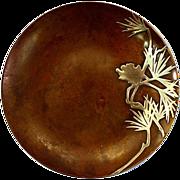 Extraordinary Vintage Heintz Sterling Silver on Bronze Plate