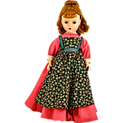 "1952 Madame Alexander 14"" ""Meg"" Doll - Tagged w Original Outfit"