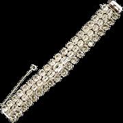 Eisenberg Original Clear Rhinestone Eisenberg Bracelet