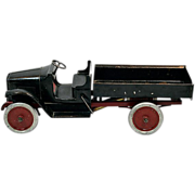 "1920s Very Rare 25"" Buddy ""L"" Hydraulic Model 201-A Pressed Steel Dump Truck"