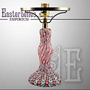 SALE PENDING Beautiful Vintage Stunning Venetian Millefiori Glass Vintage Lamp, ca 1920's High
