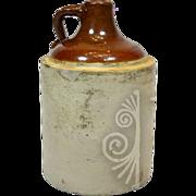 Collectible Vintage Stoneware Jug