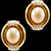 Elegant Ultra-Chic Vintage Ciner Earrings