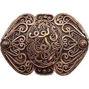 Breathtaking Antique Arabic Brooch