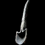 SALE Spoon, Primitive, tribal, hand carved, folk art