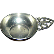 SALE Pewter nappy or small bowl by Royal Holland Pewter