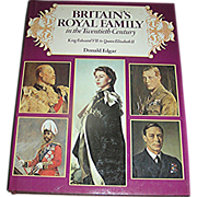"SALE Book, ""Britain's Royal Family""-King Edward to Elizabeth""- 1979"