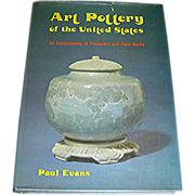 SALE Book, Art Pottery of the United States, 1974, Paul Evans