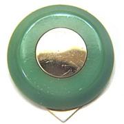 SALE Vintage Bakelite Pale Green Dress / Scarf Clip