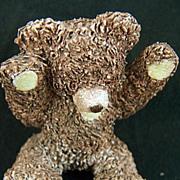 SALE Vintage signed Peter Fagan Benji Bear Figurine - dated 1992