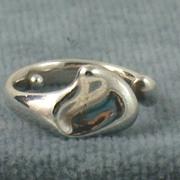 SALE Estate Sterling Silver Tiffany Peretti Heart Ring