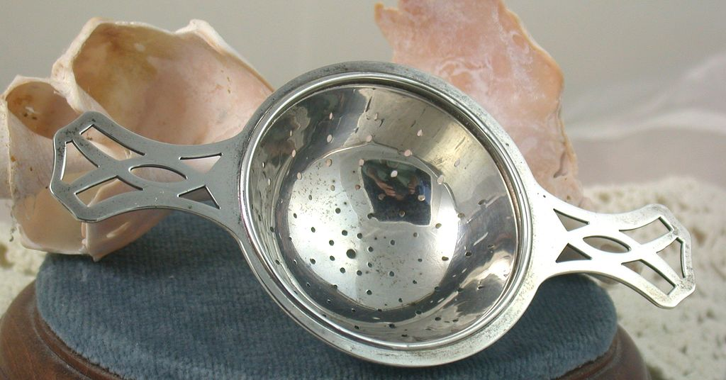 Estate Sterling R. Blackinton & Co. Tea Strainer