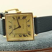 18K Ladies Rolex 1600 Cellini Watch