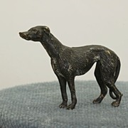 SALE Estate Cold Painted Bronze Whippet