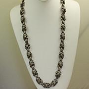 SALE Versatile Vintage Mexico Sterling Necklace/Bracelet