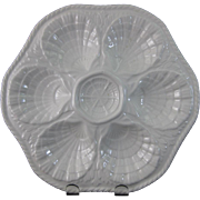 SALE Portuguese  6-well Oyster Plate  (30% OFF)