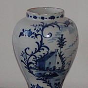SALE Delft vase.