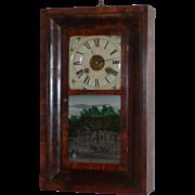 Seth Thomas ogee clock...Antique wall clock...Antique clock...