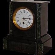 Clock...Victorian mantel clock....