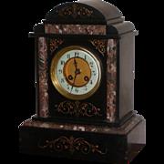 Clock...Victorian mantel clock....Antique clock...
