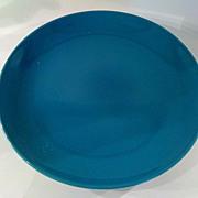 SOLD Aqua Russel Wright Iroquois Dinner Plate