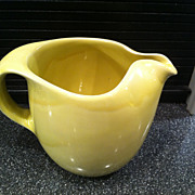 Sterling Straw Yellow Original Water Pitcher by Russel Wright