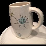 SOLD Franciscan Starburst Coffee Mug 1950's