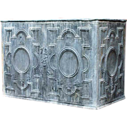 SOLD English George I Style Lead Garden Cistern