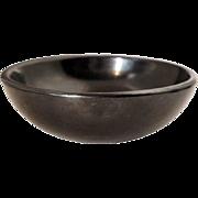 Native American MARIA MONTOYA MARTINEZ San Idelfonso Pueblo Black Pottery Bowl