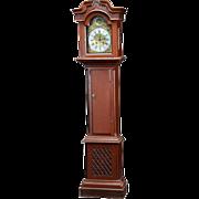 Danish Jurgen Kaadtmann Painted Pine Grandfather Clock