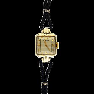 Lady's 14K Yellow Gold Hamilton Watch