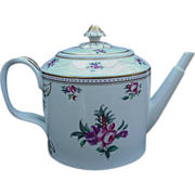 SALE Floral Decorated Teapot by Mottahedeh for Vista Alegre, Portugal