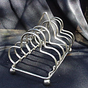Vintage Silverplated Toast Rack