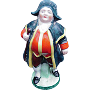 Charles Dickens Character Porcelain Figurine, Mr. Bumble, Germany