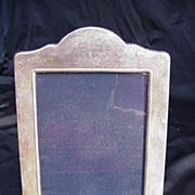 Vintage Sterling Silver Frame with Black Velvet Lining
