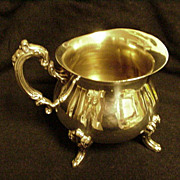 Towle Silver Plated Cream Pitcher