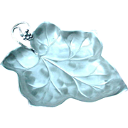 WMF Ikora Silverplated Leaf Dish