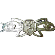 Brownie Scout Barrette, 1940s