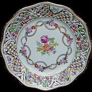 "Schumann ""Empress"" Plate, Bavaria, Germany, U.S. Zone Mark"