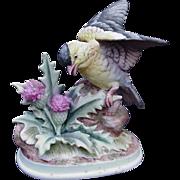 Vintage Andrea Gold Finch Figurine, Japan