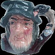 Rip Van Winkle Character Pitcher, Royal Doulton