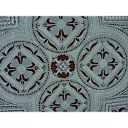 Spanish Tile, Geometric Pattern